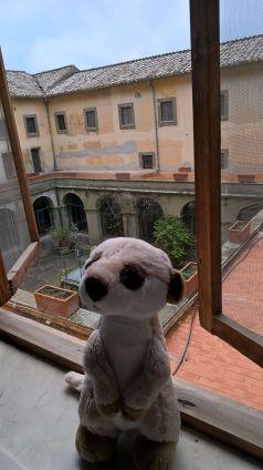 Mein Ausblick in eine echte römische Villa