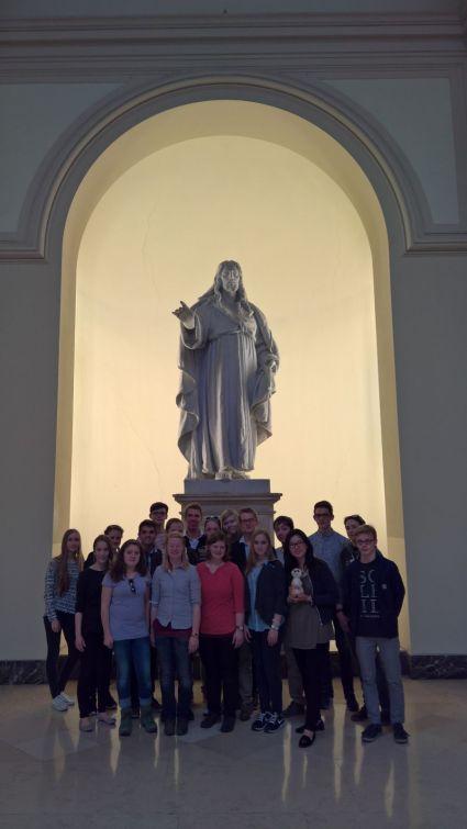 Wir in der päpstlichen Universität Gregoriana
